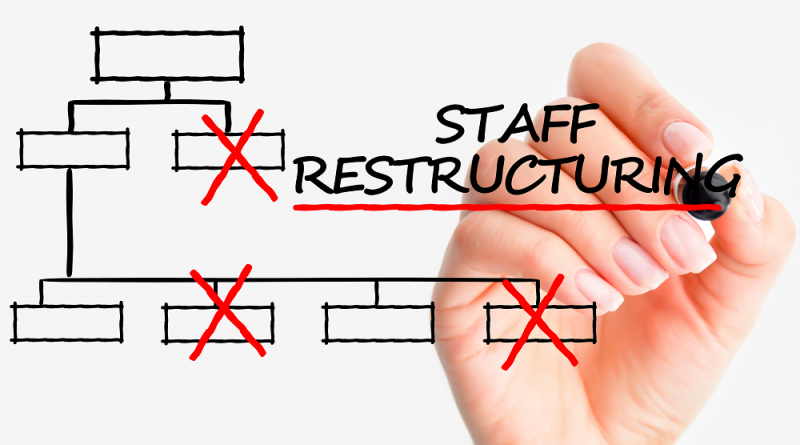 how to handle the extra workload after a corporate restructuring