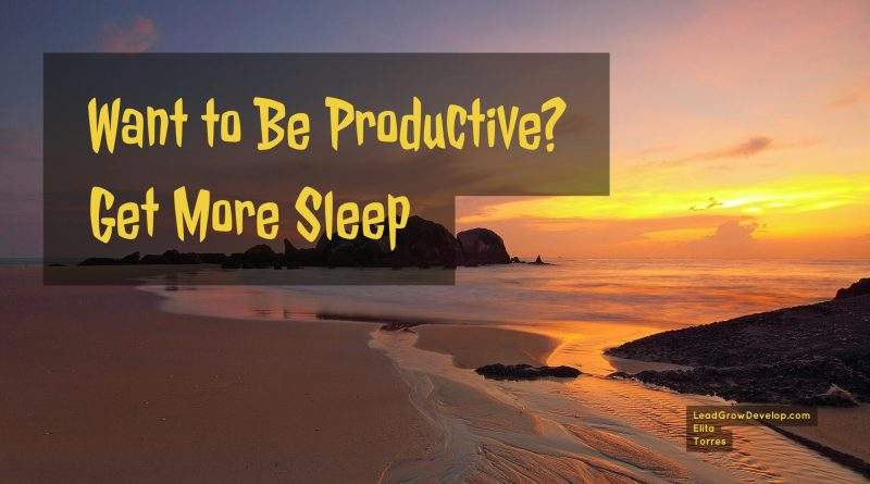 be-productive