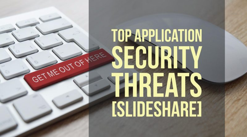 application-security-threats