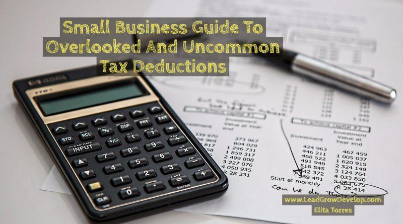 overlooked-uncommon-tax-deductions