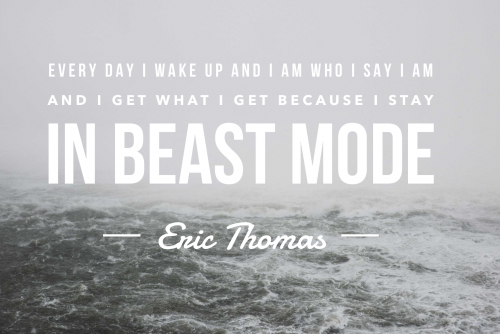 Eric Thomas Quotes Fascinating Ericthomasbeastmodequote  Lead Grow Develop Shares Insights