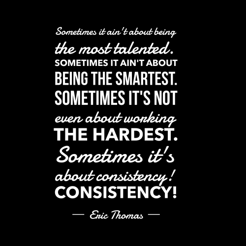Eric Thomas Quotes Inspiration Ericthomasconsistencyquote  Lead Grow Develop Shares Insights