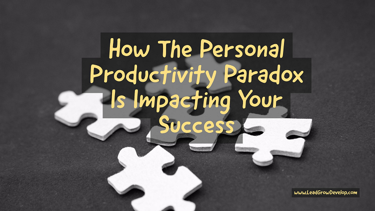 productivity paradox The dirty secret of it is that spending money on it doesn't actually increase organizational productivity, but that may finally be changing with cloud.